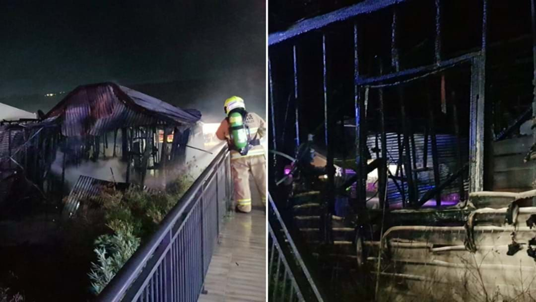 Article heading image for Gosford House Totally Destroyed In Suspicious Inferno Overnight