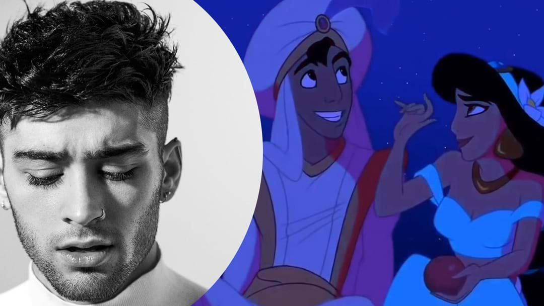 Article heading image for Hear Zayn Sing 'A Whole New World' From The Aladdin Live Action Soundtrack