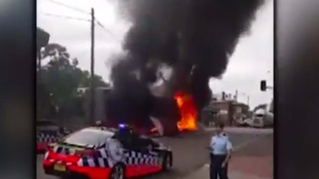Article heading image for Footage Emerges Of The Singleton Truck Crash