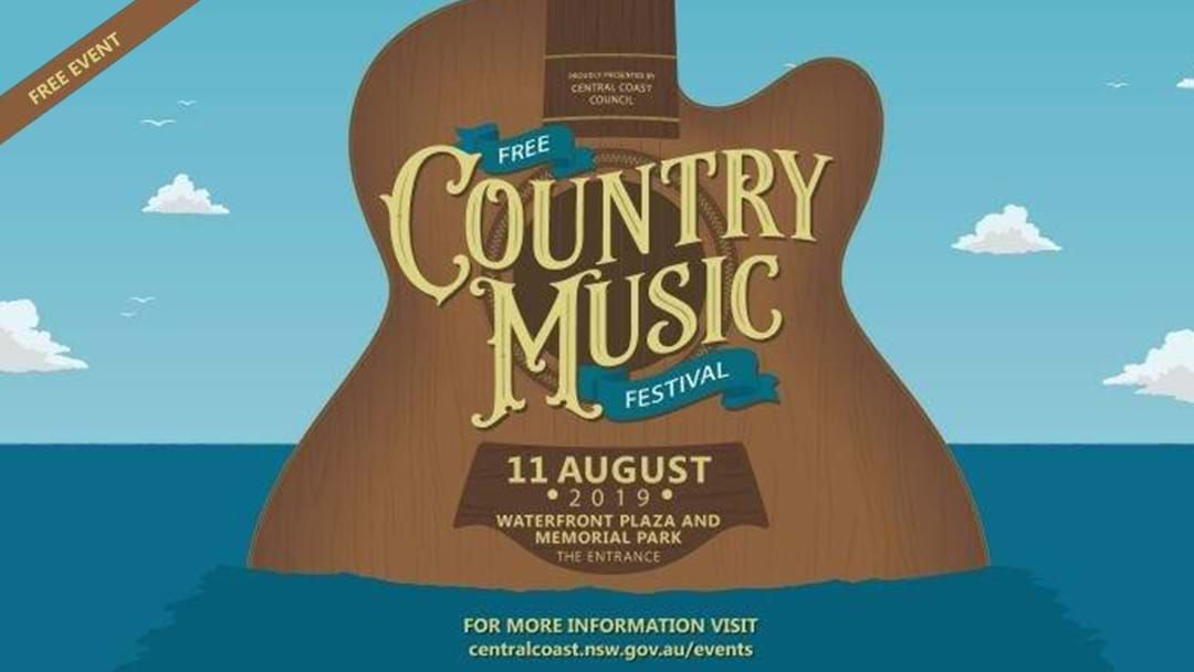 Article heading image for Central Coast Country Music Festival​ 2019