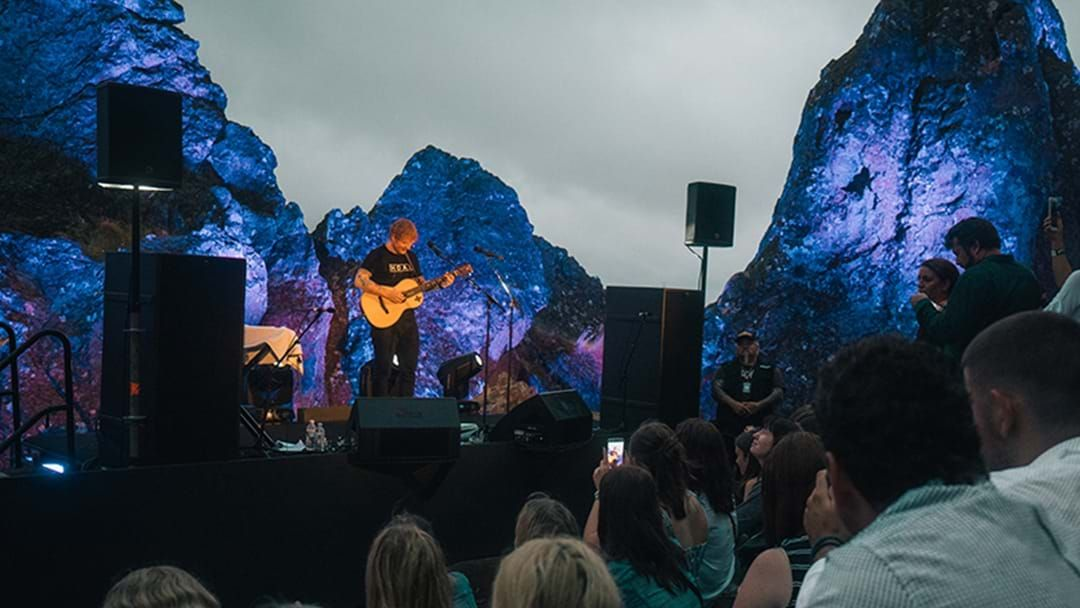 Article heading image for Ed Sheeran's Incredible Performance On The World Famous Rooftop At Hanging Rock