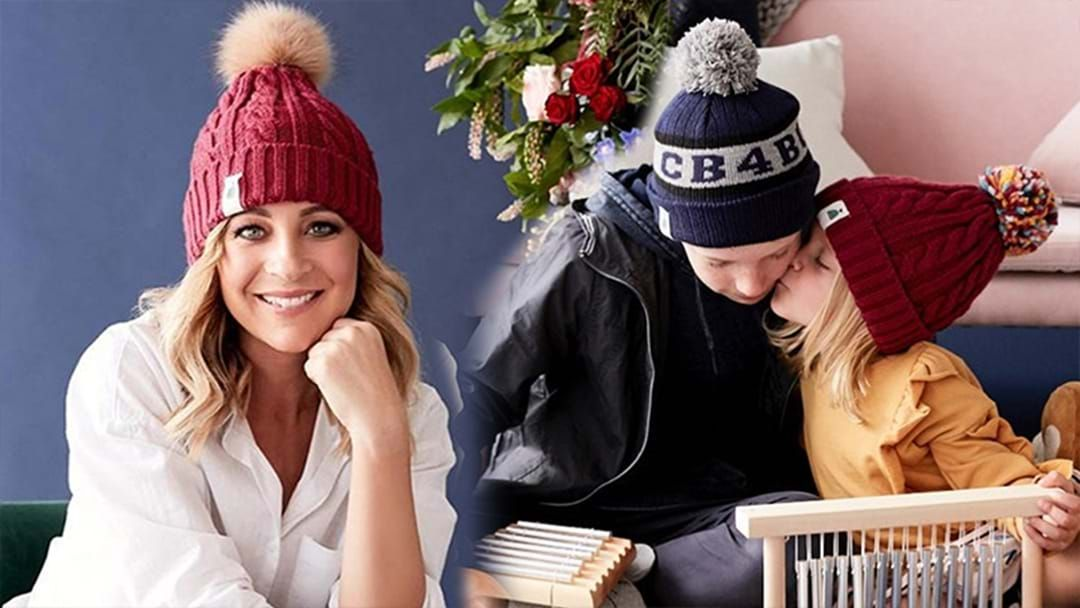 Carrie Bickmore s  Beanies 4 Brain Cancer  Set To Raise  5 Million! 36f16406f11