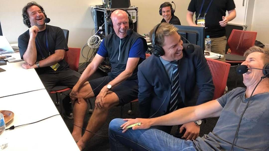 Article heading image for Triple M's Incredible Cricket Story Battle Between Mick, Skull, Warnie And Phil Tufnell