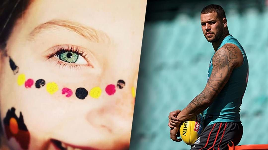 Article heading image for Buddy Franklin's Emotional Instagram Post About What Australia Day Means To Him