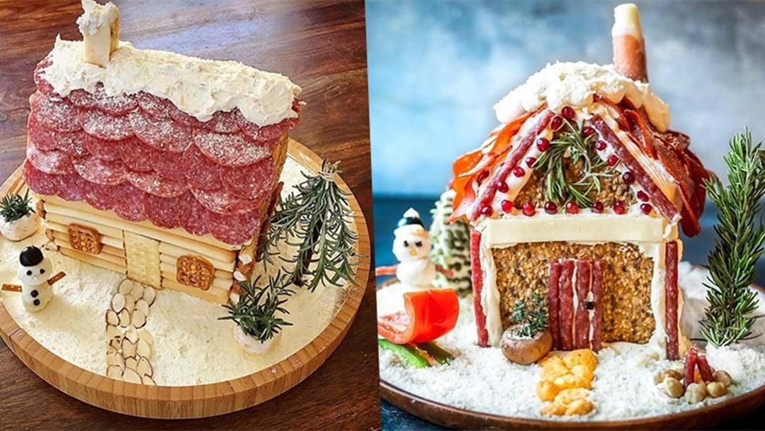 Article heading image for Turns Out Charcuterie Chalets Are The New Christmas Trend & Honestly What Monster Created These?