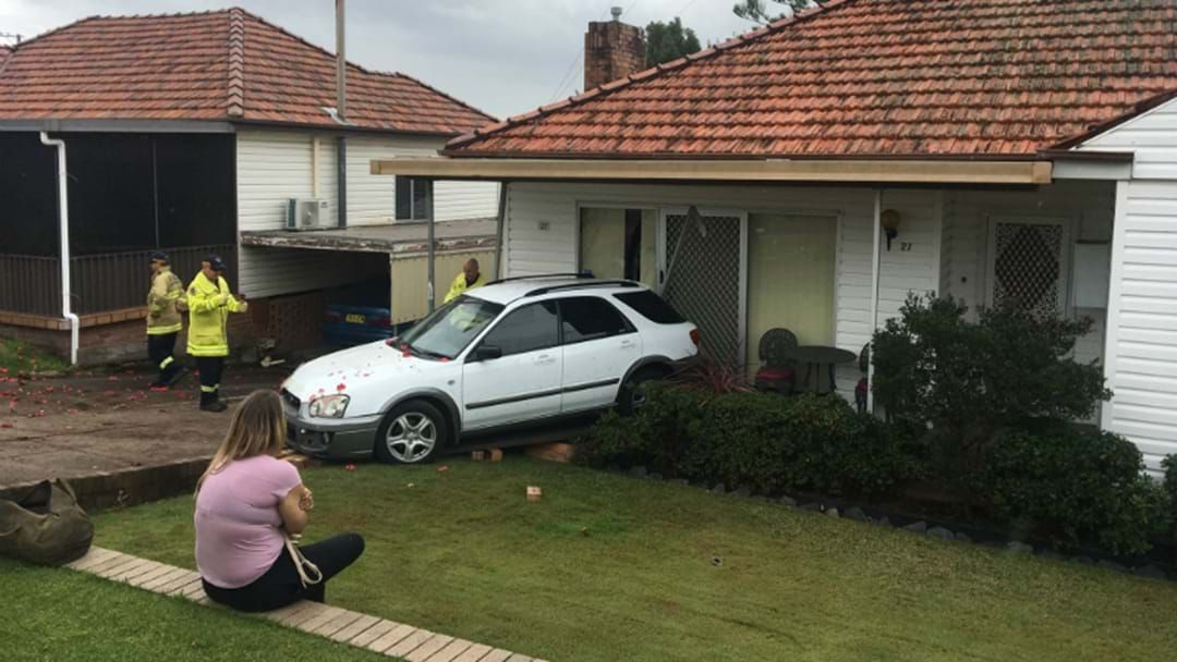 Article heading image for Car Crashes Into House At Charlestown