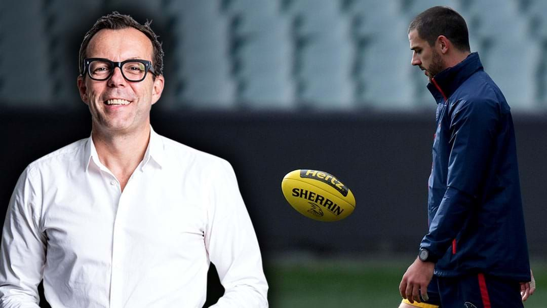 Article heading image for Damian Barrett Responds To Tex Walker Clipping Him