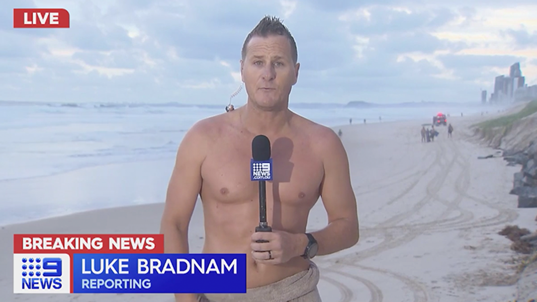 Article heading image for Luke Bradnam Swims Out To Recover Body Mid Weather Report