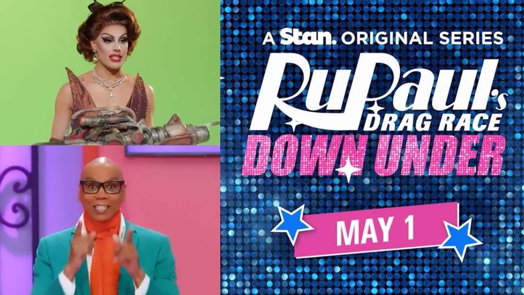Article heading image for Here's Your First Look At RuPaul's Drag Race Down Under