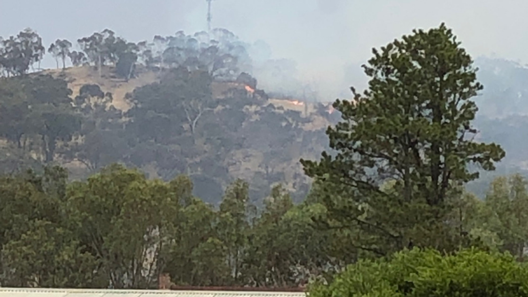 Article heading image for Lightning Strike Causes Fire On Huon Hill
