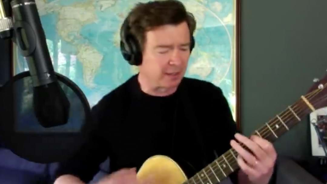 Article heading image for Rick Astley's Released An Acoustic Cover Of 'Everlong' By Foo Fighters