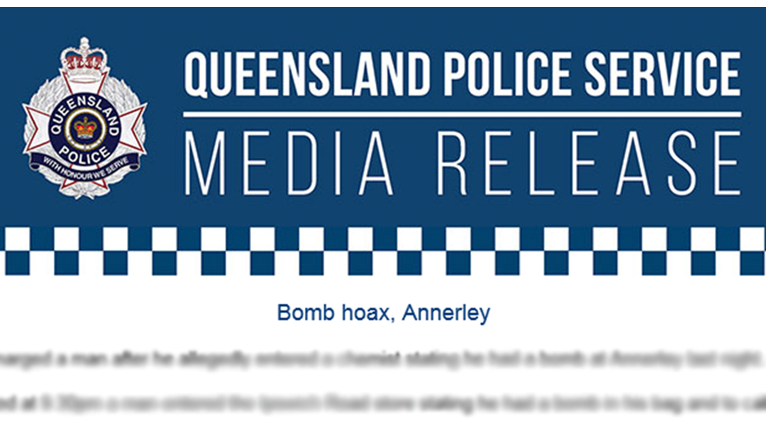 Article heading image for Queensland Police Dropped A Casual 'C-Bomb' In A Press Release Today