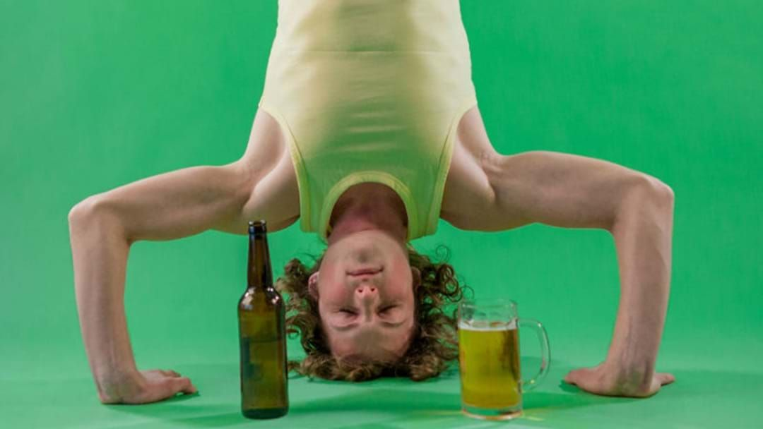 Article heading image for Beer Yoga Is Happening In The Southwest And We Can't Deal!