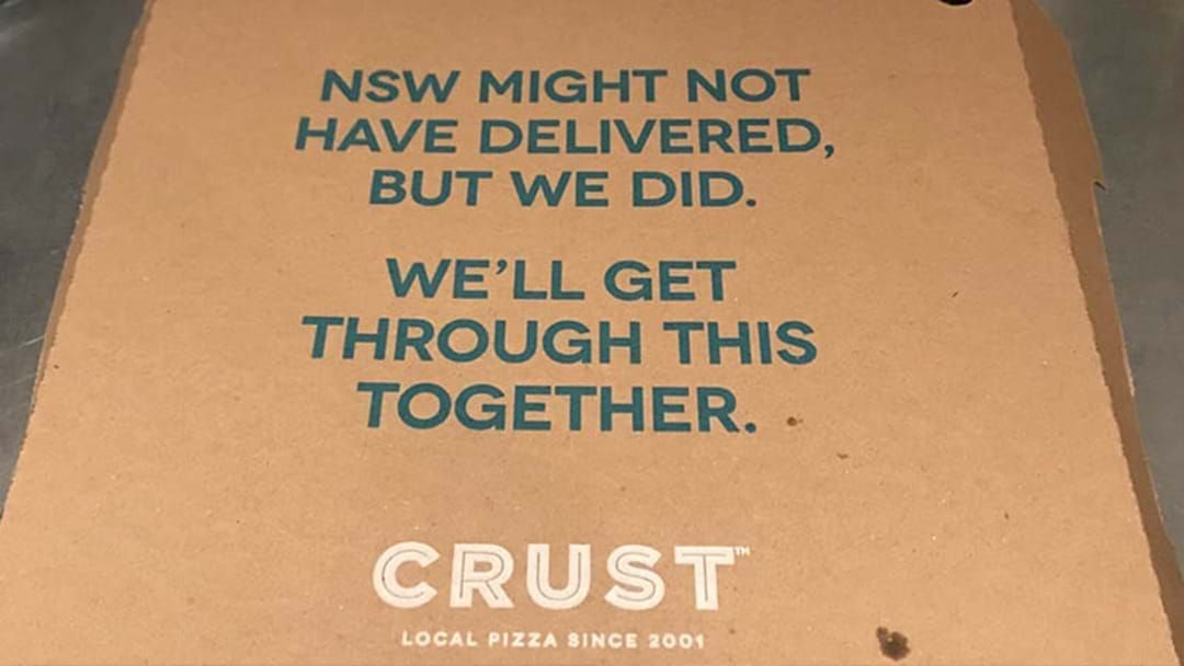 Article heading image for Crust Will Send One Punter To Perth On An All Expenses Paid Trip For Origin II After Pizza Box Stuff Up