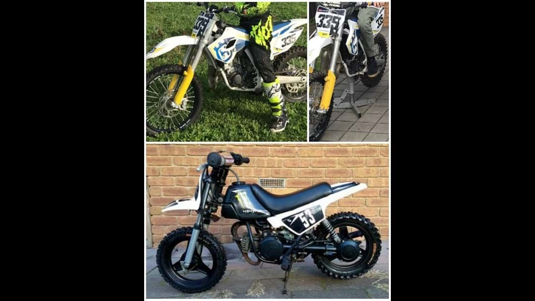 Article heading image for Two motorcycles stolen from Penola garage