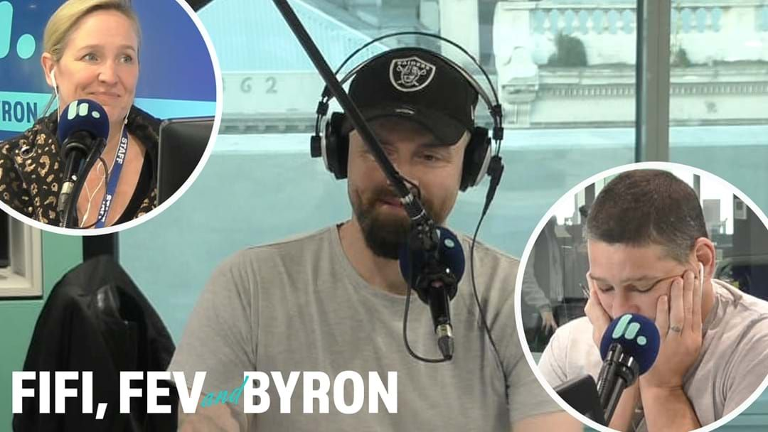 Article heading image for Byron Cooke Announces He Is Leaving The Fifi, Fev & Byron Show And Will Not Return For 2021