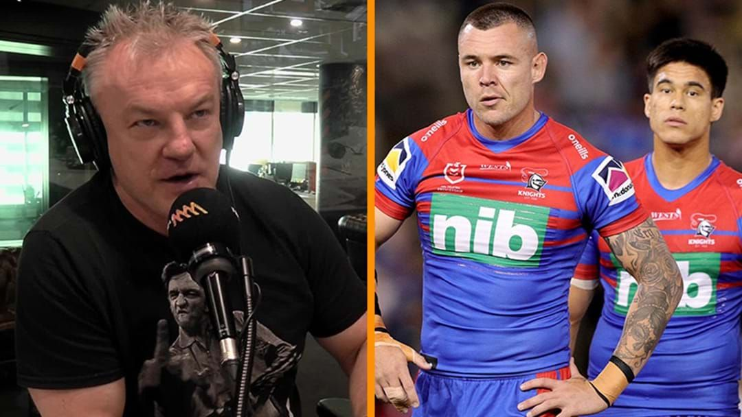 """Article heading image for Paul Kent & Gorden Tallis Slam The """"Attitude"""" Of The Newcastle Knights"""