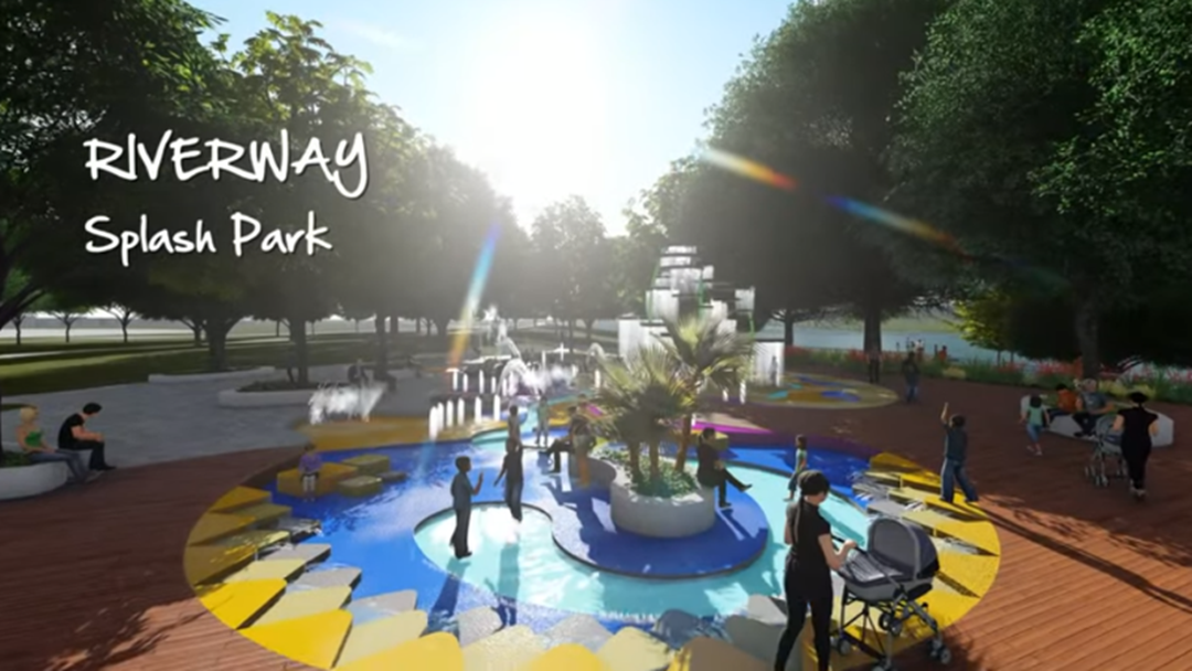 Article heading image for Take A Tour Now Of The Proposed Riverway Water Park