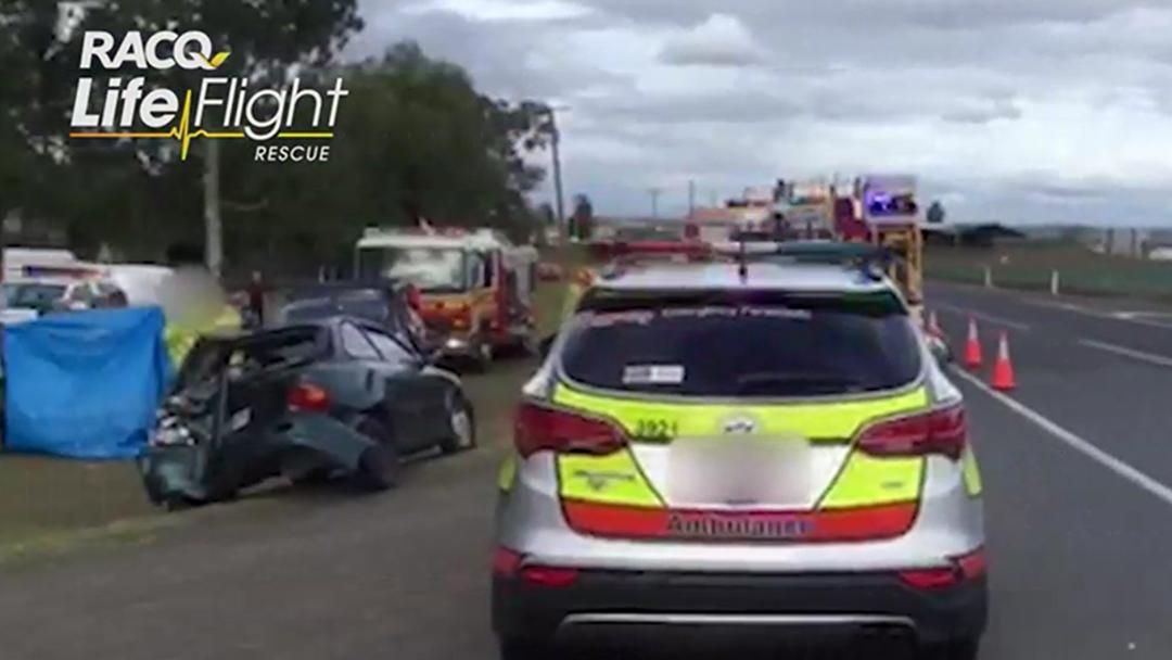 Article heading image for Good Samaritan Seriously Injured at While Helping at Crash Scene