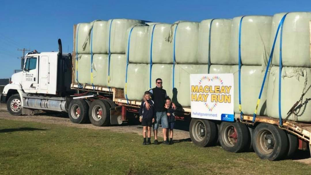 Article heading image for Macleay Hay Run Making A Difference For Struggling Farmers