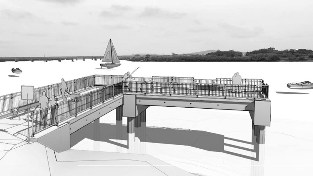 Article heading image for New Fishing Pier At Hospital Bridge