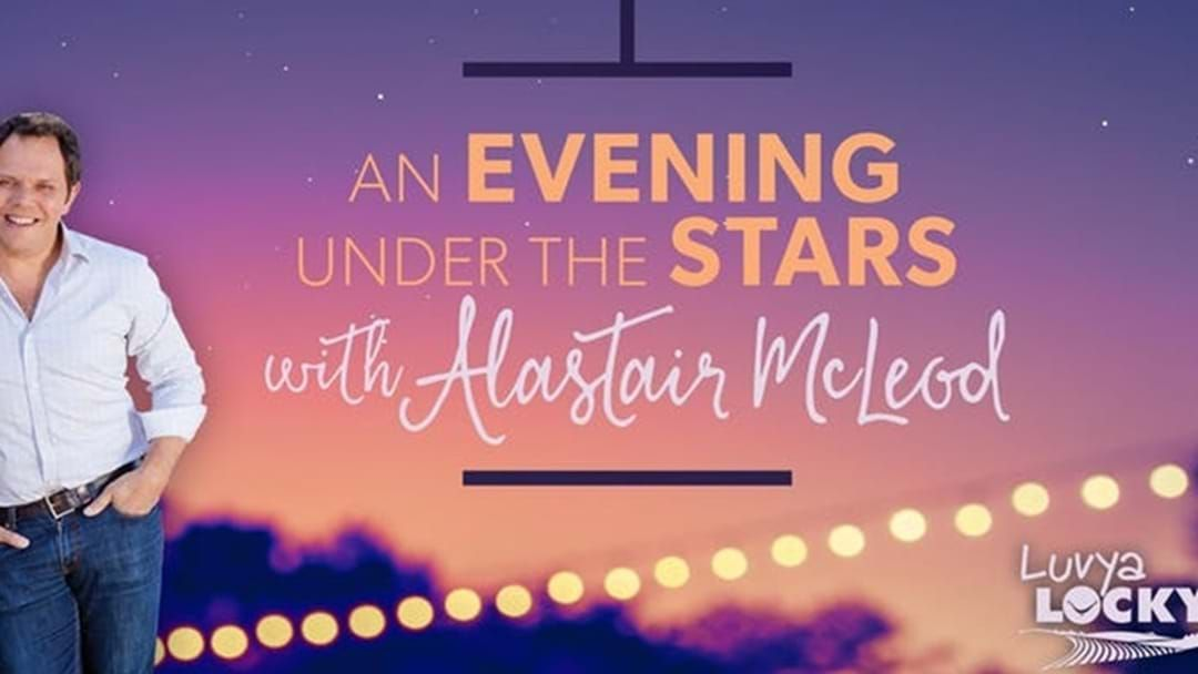 Article heading image for Spend An Evening Under the Stars with Alastair McLeod