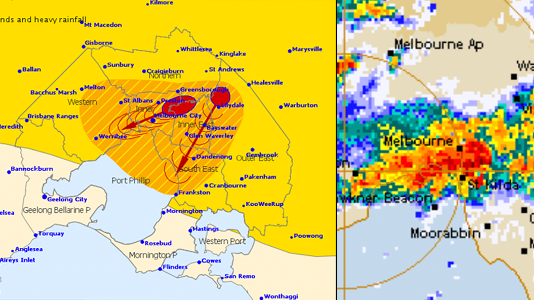 Article heading image for Severe Thunderstorm Warning Issued: More Wild Weather On The Way For Melbourne