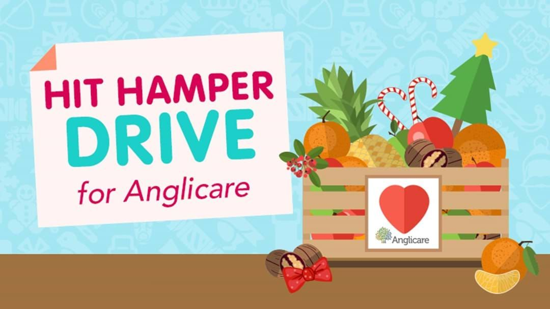 Article heading image for Hit Hamper Drive For Anglicare 2018