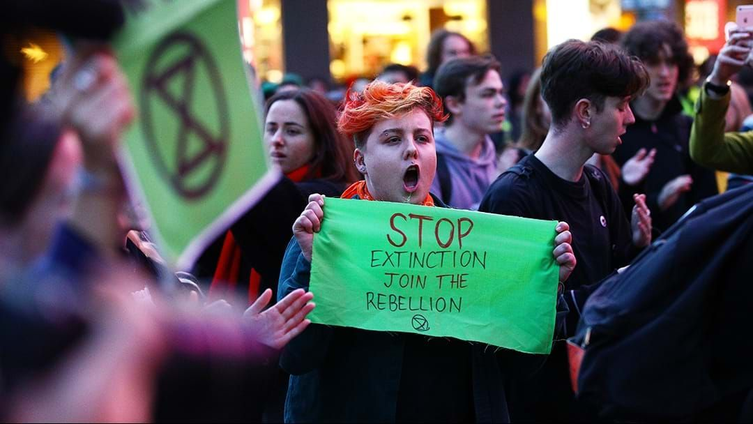 Extinction Rebellion protests: Belgian princess 'arrested in Trafalgar Square'