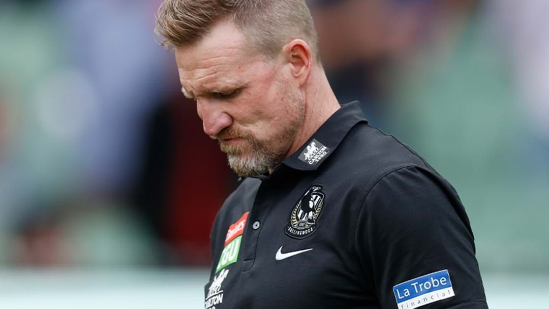 Article heading image for Buckley 'Content' With Decision To Coach Final Match With Collingwood