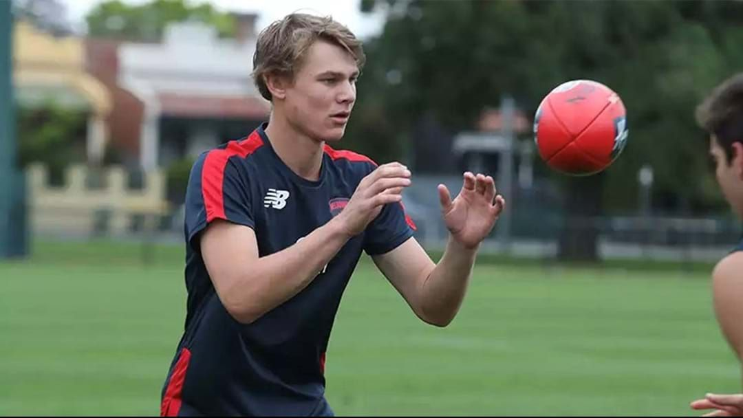 Article heading image for Demon Draftee Ruptures ACL At Training