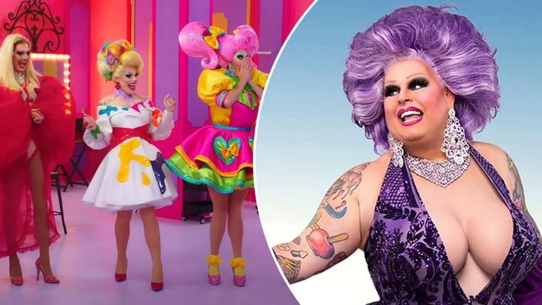 Article heading image for Drag Race's Maxi Shield Reveals Just How Heavy Her Boobs Are