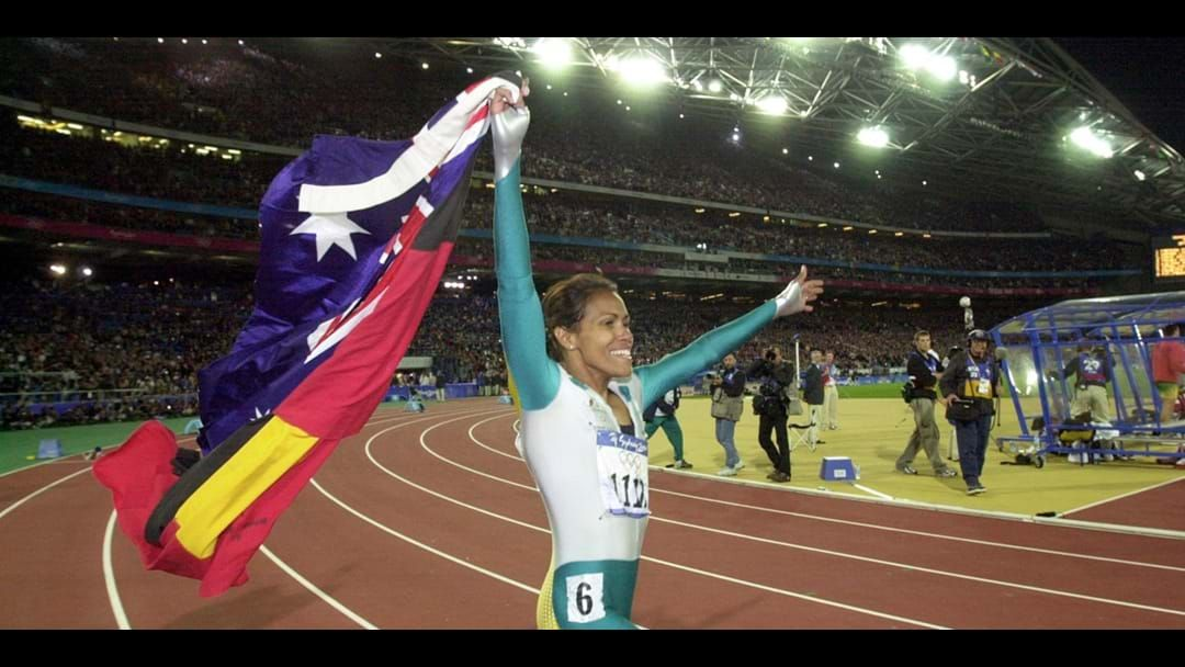 "Article heading image for Cathy Freeman Shares Her Pride At Being Australian And ""A Product Of This Amazing Country Of Ours"""