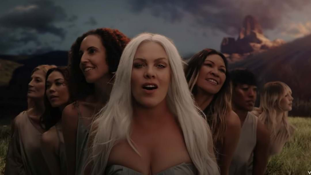 Article heading image for P!nk Debuts Stunning New Look In Music Video Featuring... Cher?!
