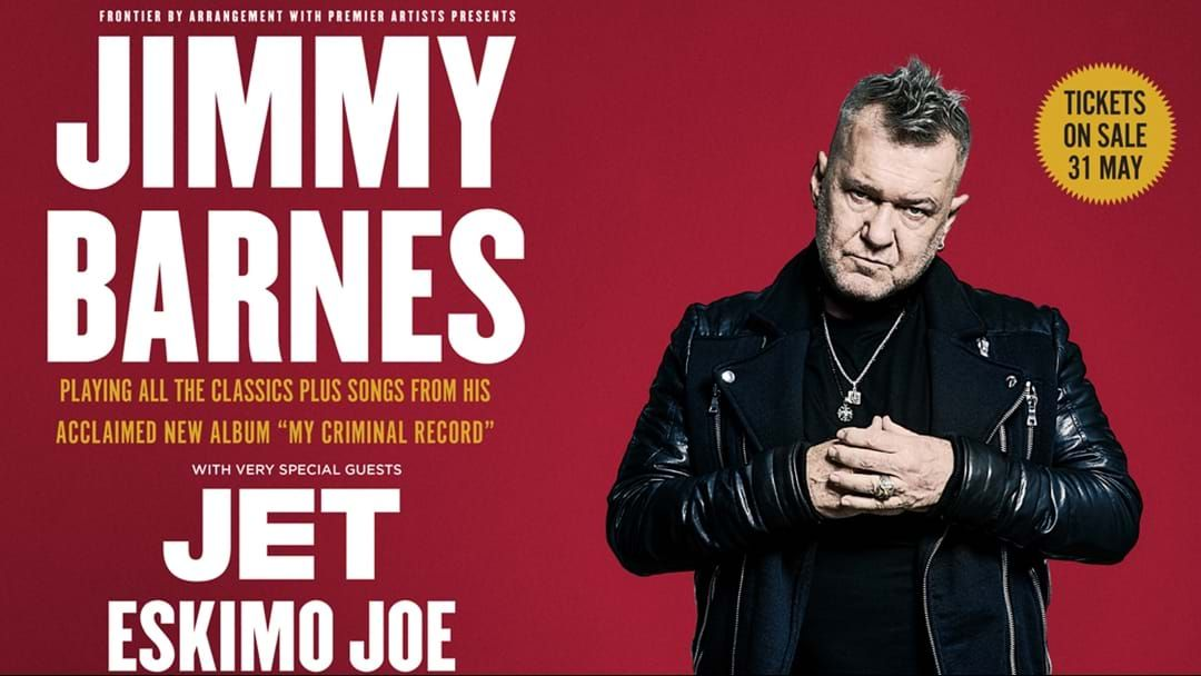 Article heading image for Jimmy Barnes Announces His Biggest Headline Tour This Century