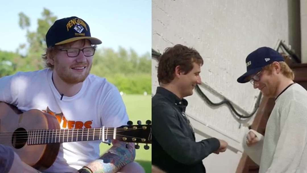 Article heading image for Ed Sheeran To Star In A Movie About Ed Sheeran