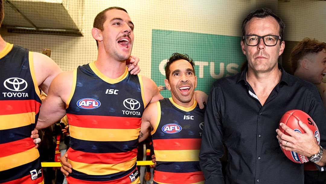 Article heading image for LISTEN | Damian Barrett And Tex Walker Address Their Feud On Air
