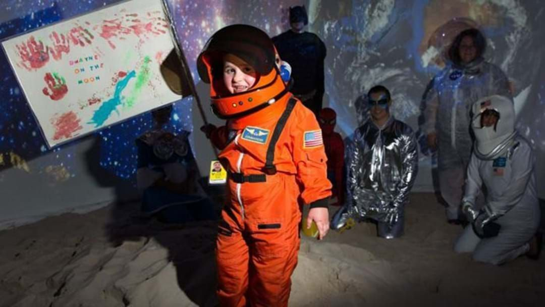 Article heading image for Make-A-Wish Foundation Has Sent A 4-Year-Old 'Into Outer Space'