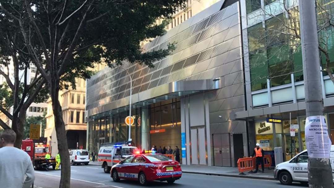 Article heading image for Two Injured As Panel Ripped From Building By The Sydney Winds