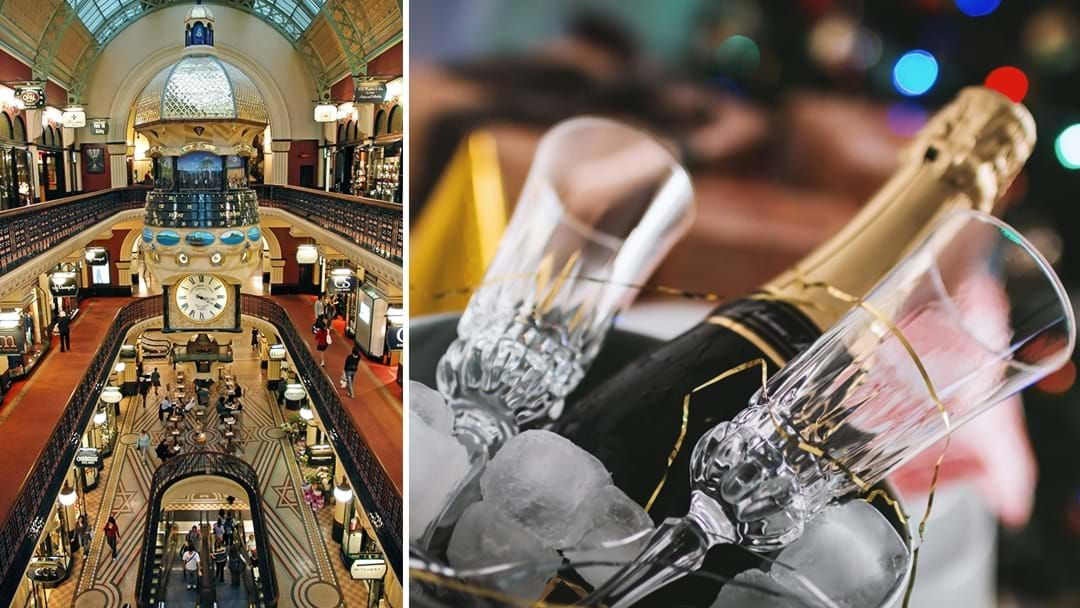 Article heading image for The Queen Victoria Building Is Getting A Late Night Shoppers Champagne Bar