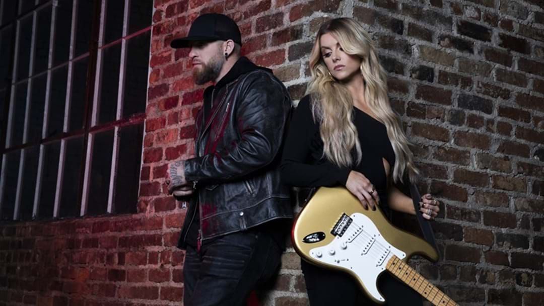 "Article heading image for Brantley Gilbert Teams Up with Lindsay Ell to Bring Us ""What Happens In A Small Town"""