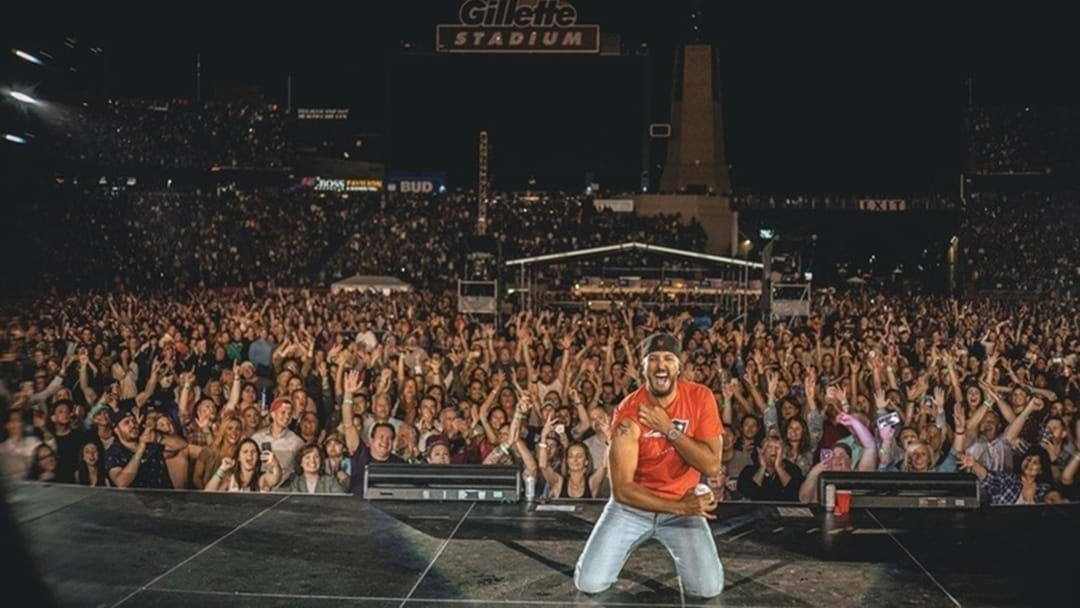 Article heading image for Luke Bryan Continues Success of Sold Out Gillette Stadium