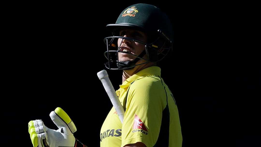 Article heading image for Mitchell Marsh Hospitalised Ahead Of First ODI Against India