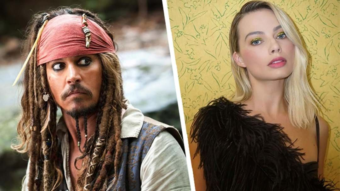 Article heading image for Margot Robbie Is Set To Replace Johnny Depp In A New Pirates Of The Caribbean Themed Film