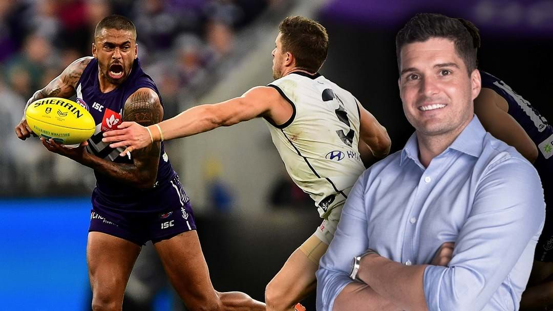 Article heading image for LISTEN | Joey Montagna Is A Fan Of Fremantle Playing Hardball In The Brad Hill Talks