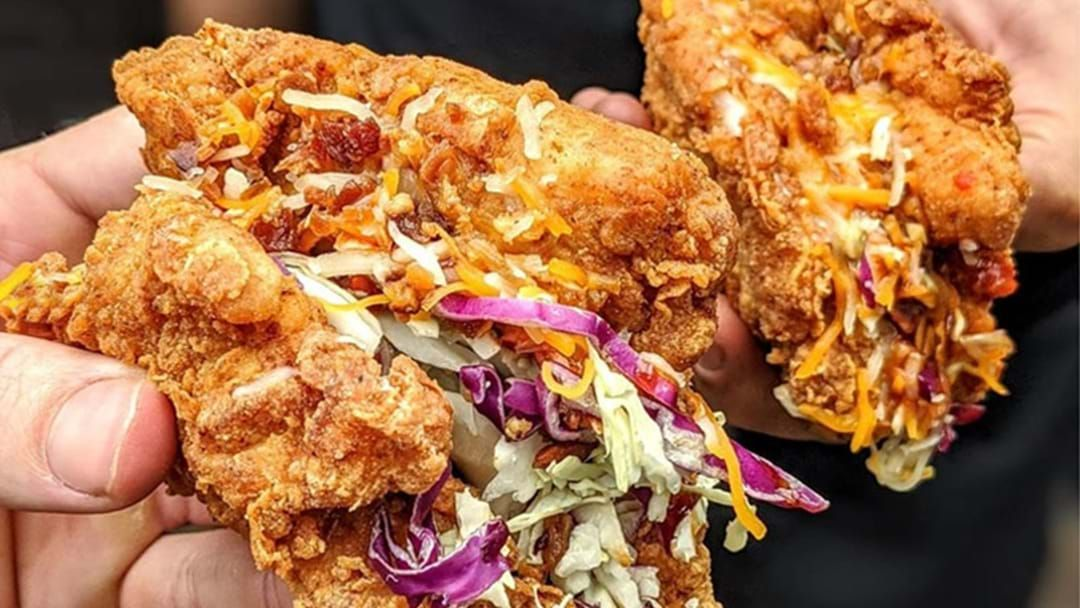 Article heading image for Jump Back Into The Sydney Food Scene With These Fried Chicken Tacos!