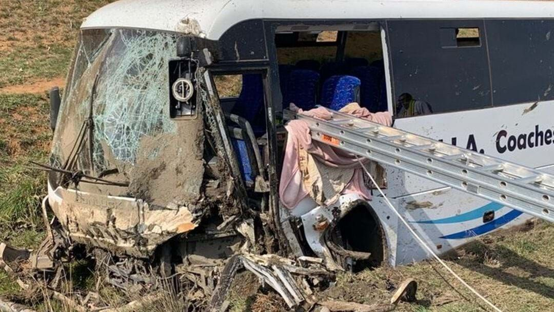 Article heading image for 28 Injured After Church Group Bus Crashes Near Harden