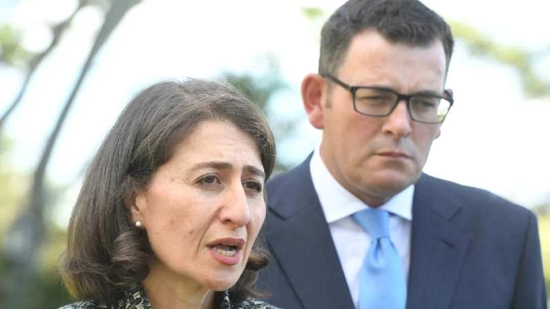 Article heading image for Dan Andrews Pays Tribute To NSW Premier Gladys Berejiklian After Her Shock Resignation