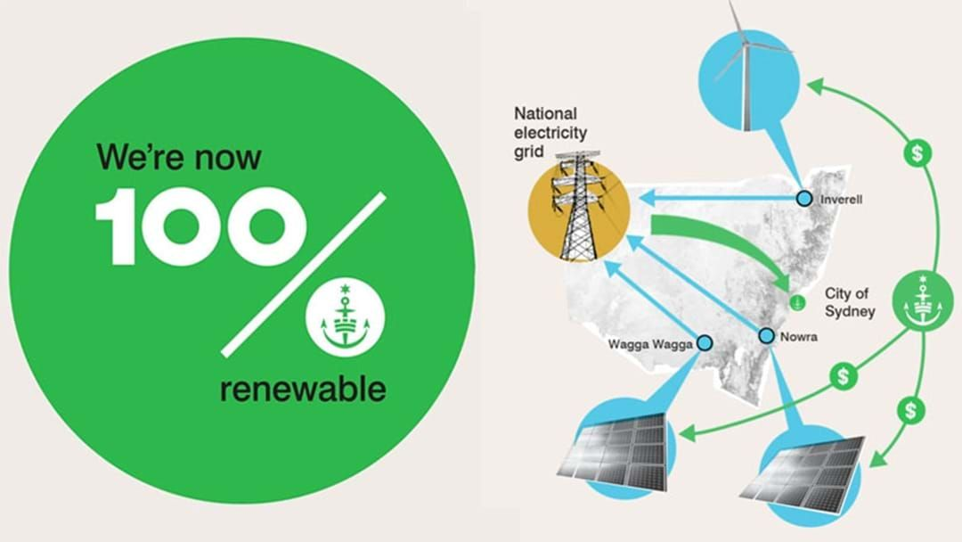 Article heading image for The City Of Sydney Area Will Now Run On 100% Renewable Energy!