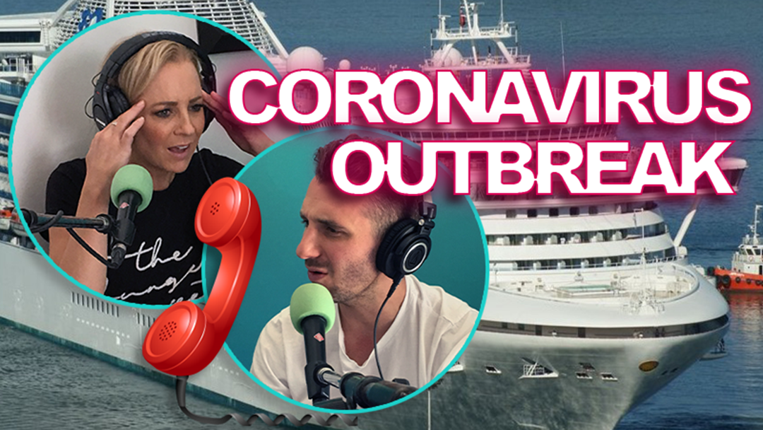 Article heading image for Carrie & Tommy Chat to Passenger Stuck On Quarantined Cruise Ship